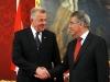 Dolmetschen beim Besuch des Präsidenten der Republik Ungarn Dr. Pál Schmitt bei seinem Amtskollegen Herrn BP Dr. Heinz Fischer anlässlich des 55. Jahrestages der Revolution von 1956